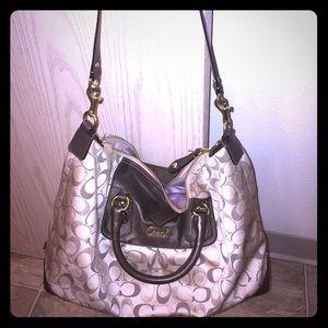 Coach handbag purse pastel CC Authentic cute 💋